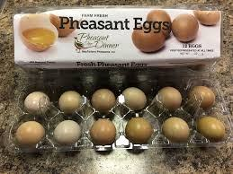 "Oh So Yummy Pheasant Eggs! ""Small Eggs, Big Flavor"""
