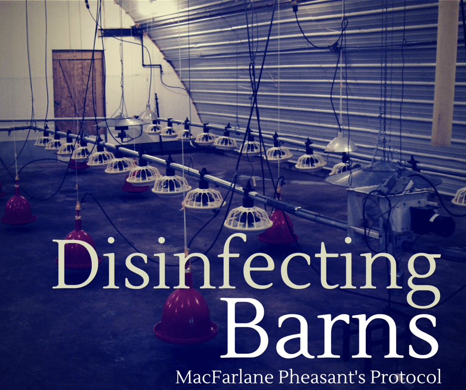 Disinfecting Barns