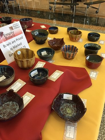 Empty Bowls Event Is a Smashing Success