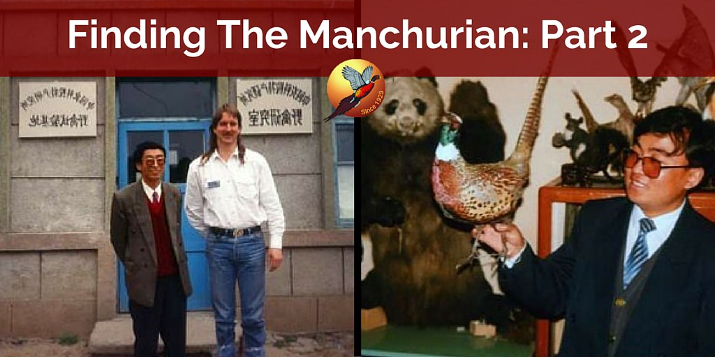 Back to the Past – Manchurian Project - Part 2