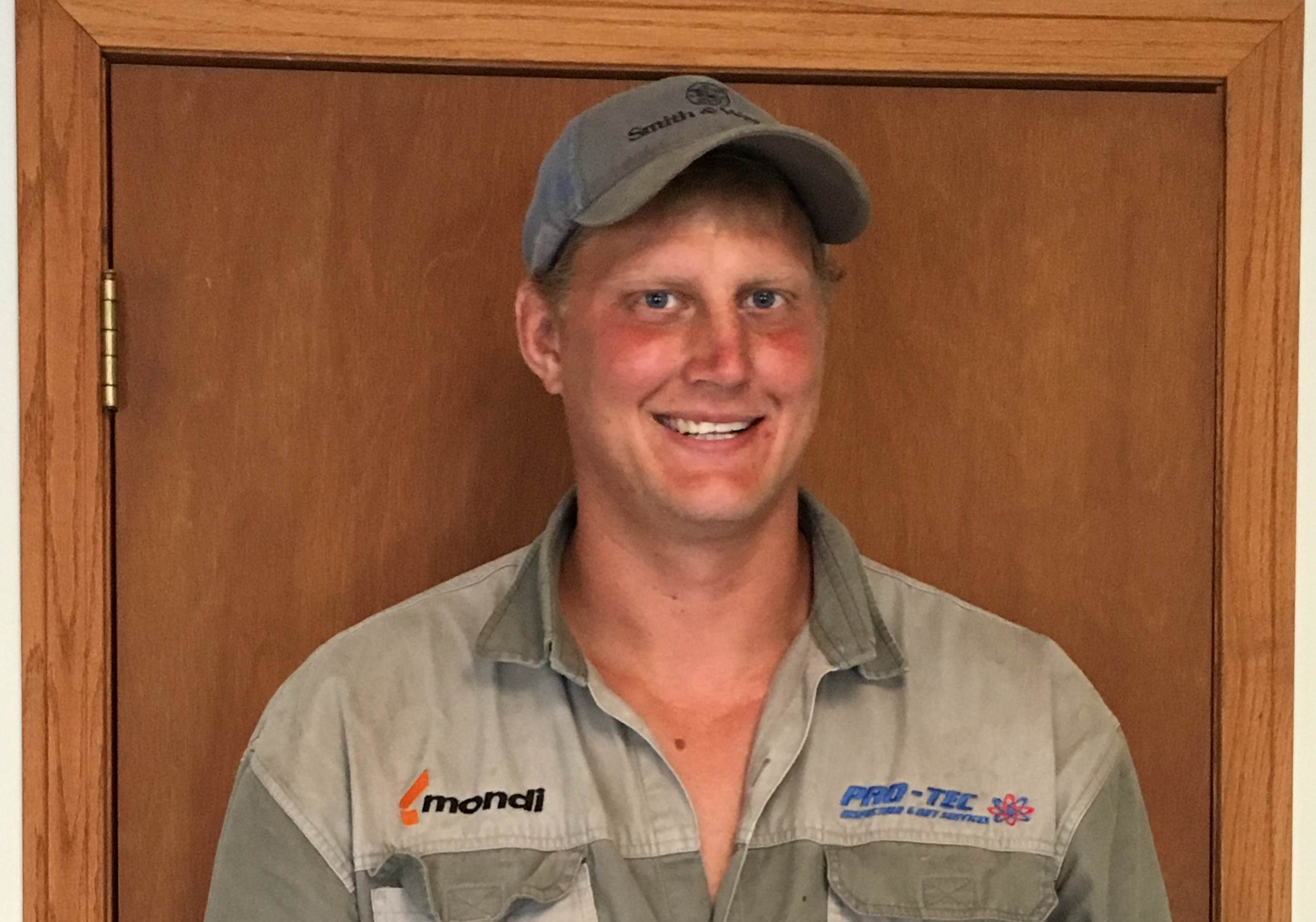 Lodewyk Davis Takes a Break from his Studies to Work at MacFarlane Pheasants