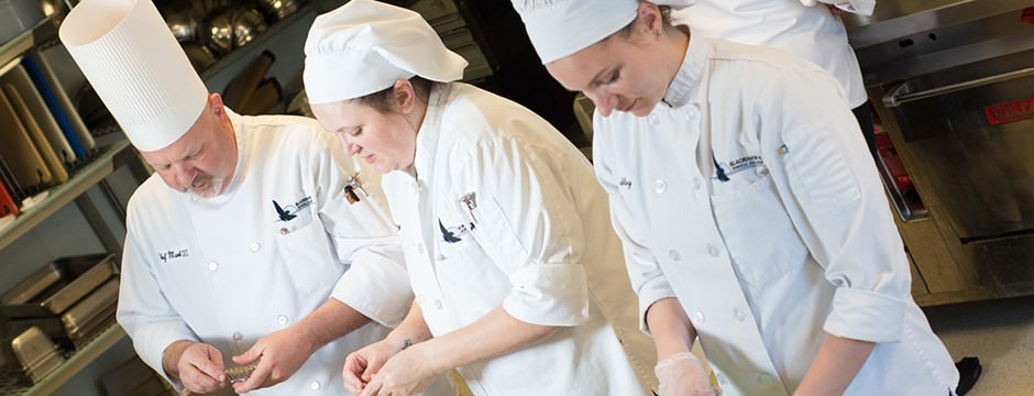 Student Chefs Prepare Pheasant Chasseur and Other Delights