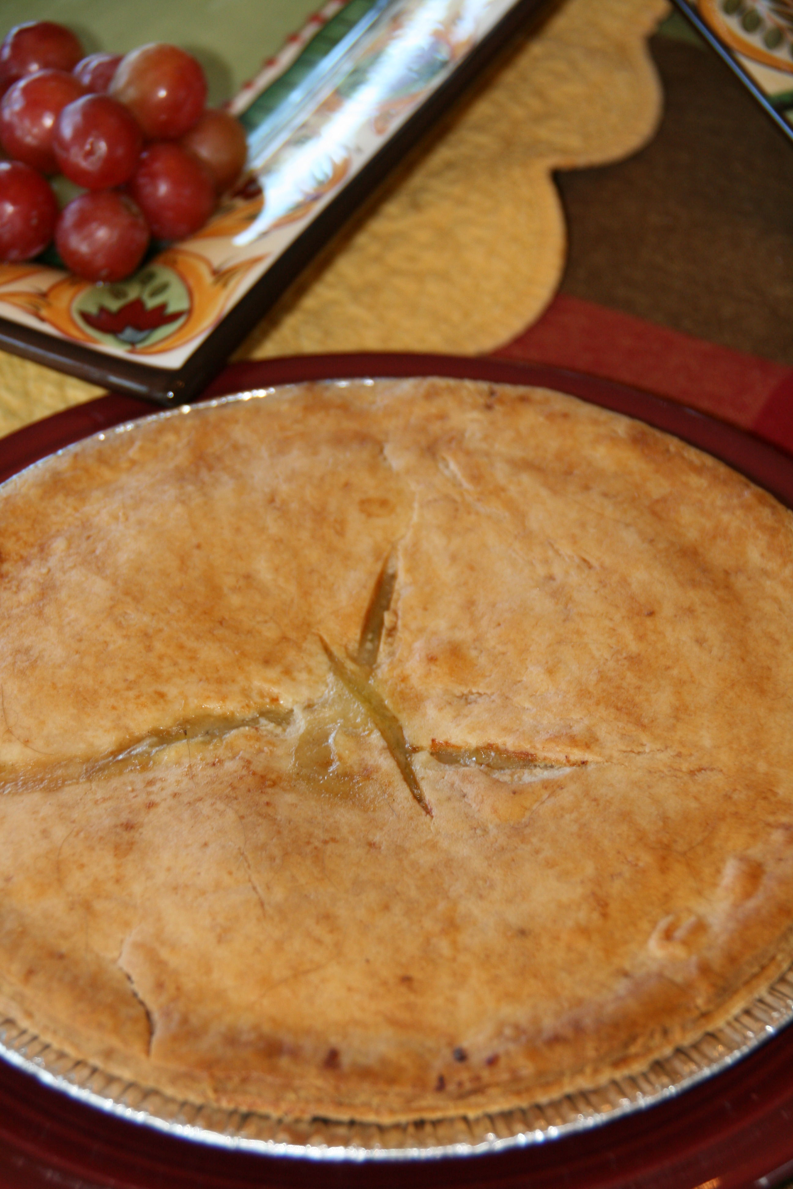 Not Just the Old Familiar Pot Pie