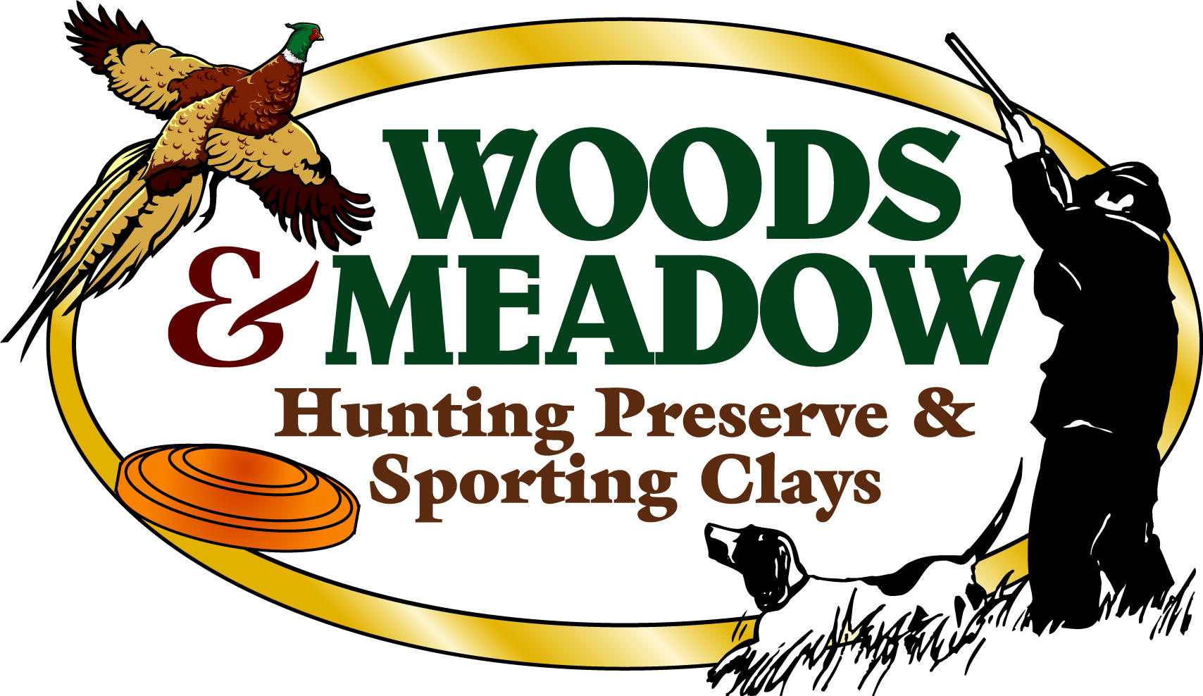 Woods & Meadow Hunting Logo